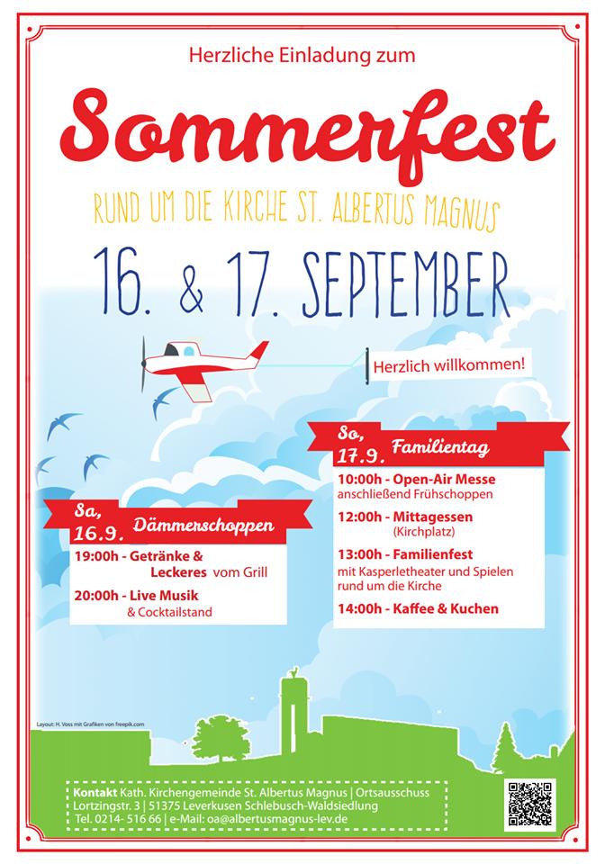 Sommerfest – 16. + 17. September